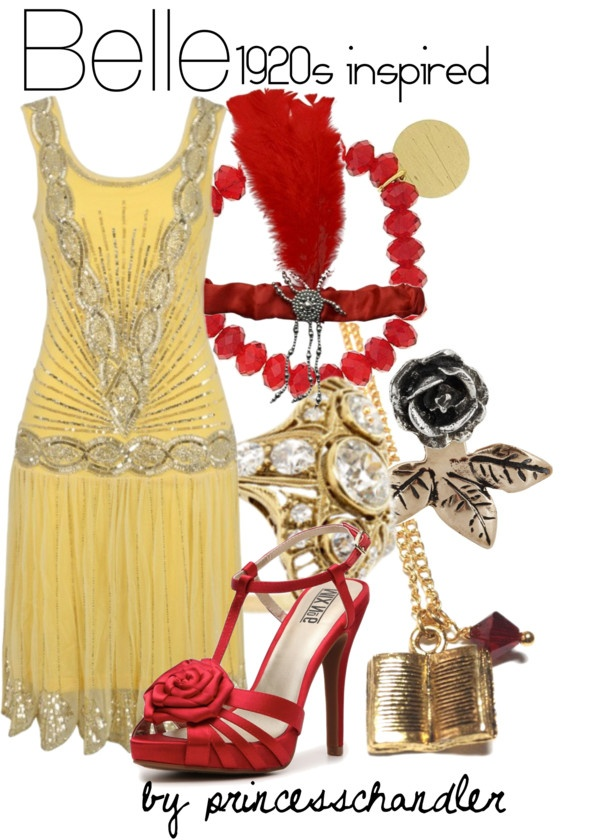 """Belle- 1920s inspired"" by princesschandler on Polyvore"