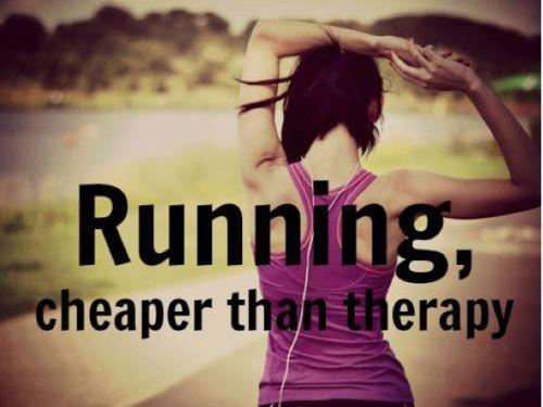 hacer ejercicio  en el verano, hice ejercicio, como corriendo, todos Dias.
