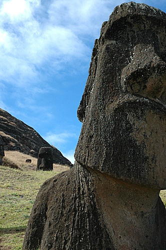 MOAI,   Isla de Pascua  Región Valparaiso   Chile