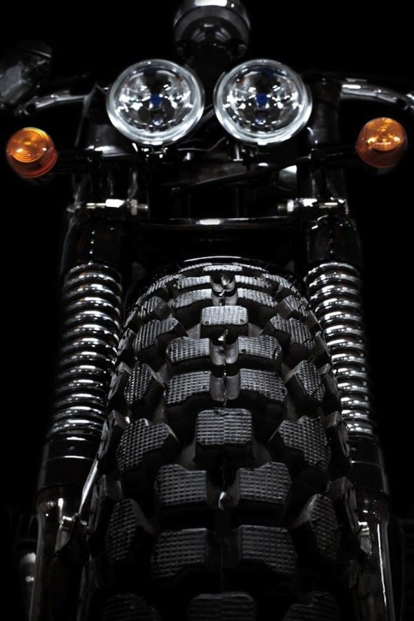 Front End | Head Lights | Track Scrambler