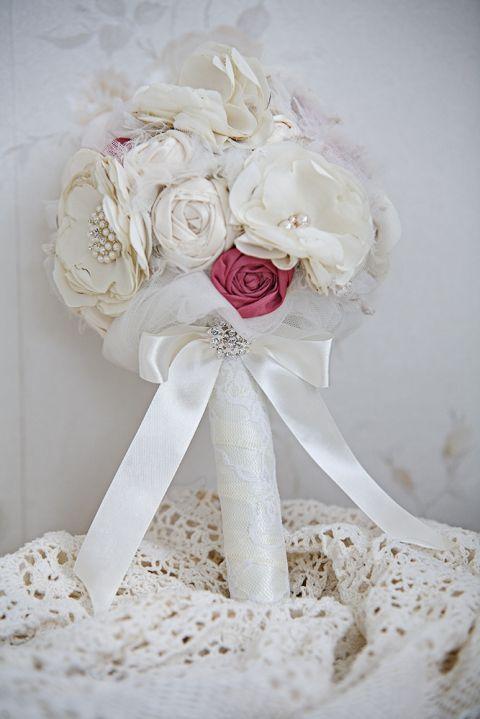 Vintage Menyasszonyi csokor , rosiedecor, meska.hu #vintage #bride #bouquet