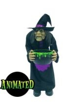 Animated Witch Prop-Party City