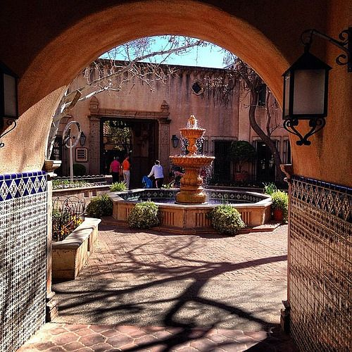 """Tlaquepaque"" #sedona, #arizona, #аризона, #седона, #southwest, #mission, #architecture, #paulewing, #zvuchno"