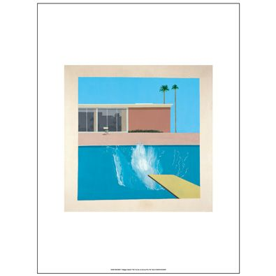 David Hockney A Bigger Splash (unframed print)
