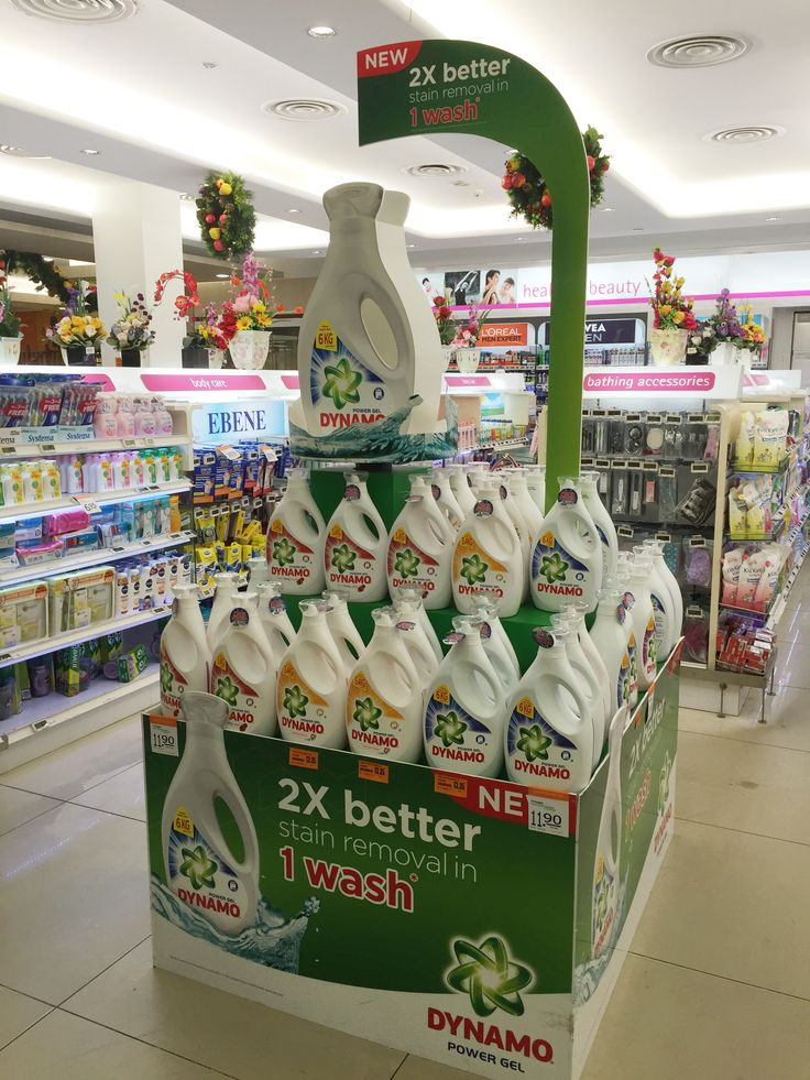 Dynamo New 2X better supermarket display | The Selling Points