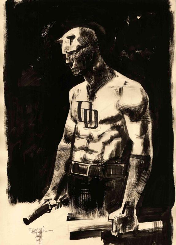 Daredevil - Alex Maleev Comic Art
