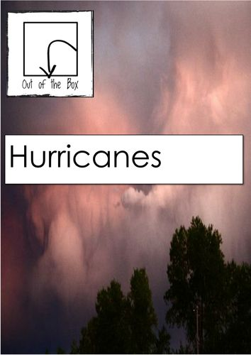 Hurricanes - Facts and Worksheet