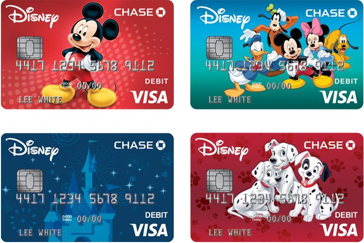 Disney Visa Debit Card From Chase