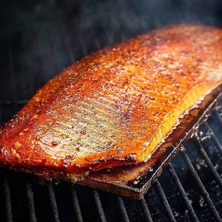 Barbecued and maple-glazed cedar plank salmon. Gorgeous. Brilliant. Mouthwatering.  Courtesy: The one. The only. Doug Pickering of DWP BBQ in Dallas TX @dwpbbq  Blog: http://ift.tt/1vCV6pv  #manvswild #seafood #pescatarian #paleo #glutenfree #farmtotable #organic #carne #churrasco #muscles #fish #fishing #weekend #travel #adventure #instagood #foodstagram #foodgasm #foodporn #beer #bbq #grill #grilling #asado #beautifulcuisines #parrilla #chef #feedme #firemakeseverythingbetter