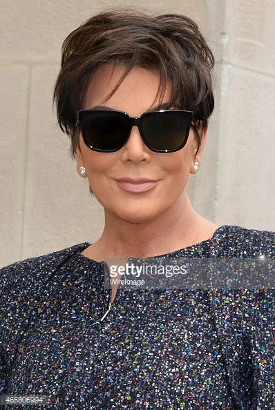 Kris Jenner attends the Chanel show as part of the Paris Fashion Week Womenswear Fall/Winter 2015/2016 on March 10, 2015 in Paris, France.
