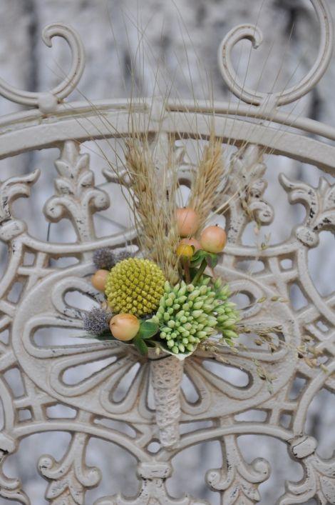 #Cocarda #ichebana din #grâu și #pomușoare decorative - #Livrare în mun.#Chișinău, #Moldova. #butoniere #nunta