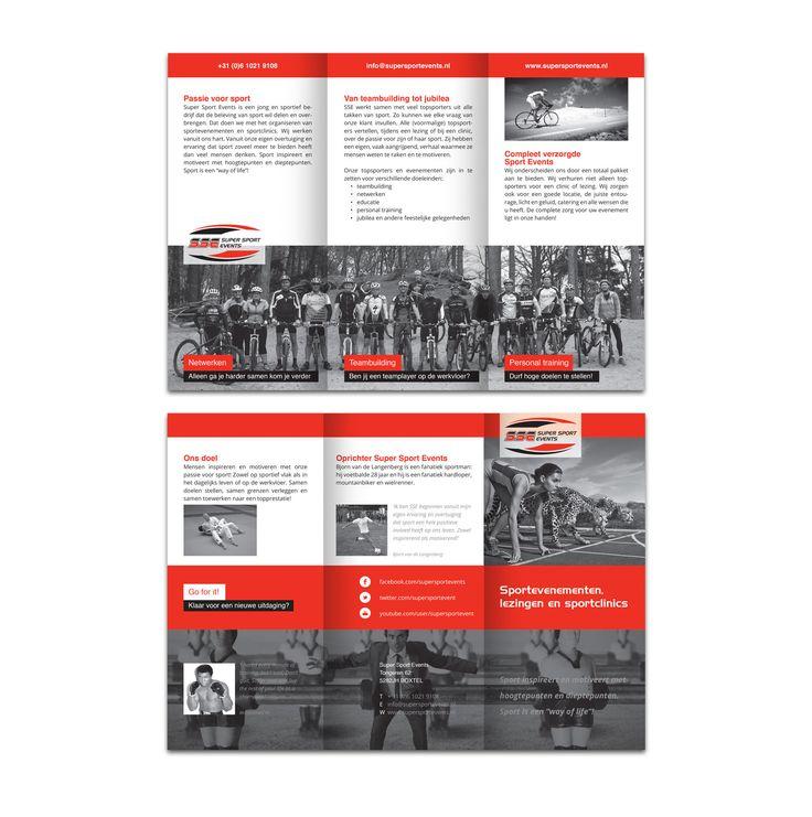 folder ontwerp voor bedrijf SSE