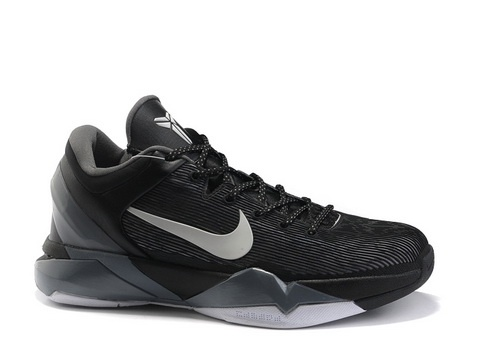 Nike Zoom Kobe 7 VII Black Smoke,Style Black/Grey/White,Technology:  Flywire,Feature: Removable ankle support,Year of Release: 2012
