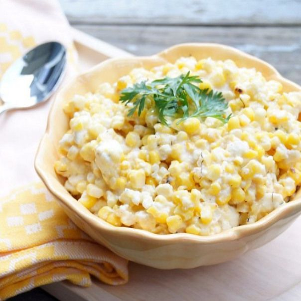 Grilled Mexican Street Corn Salad Just Like Mexican Street Corn But In Salad Form Charred Corn Corn Side Dish Mexican Street Corn Salad Mexican Food Recipes