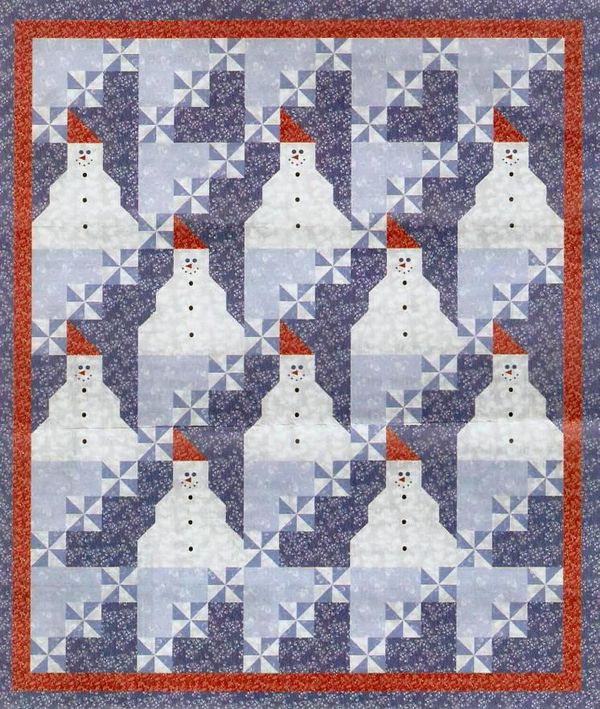 5 Free Christmas Quilt Patterns