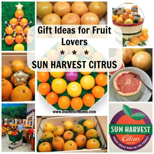 Gift Ideas for Fruit Lovers -2- Sun Harvest Citrus - Dial M for Moms