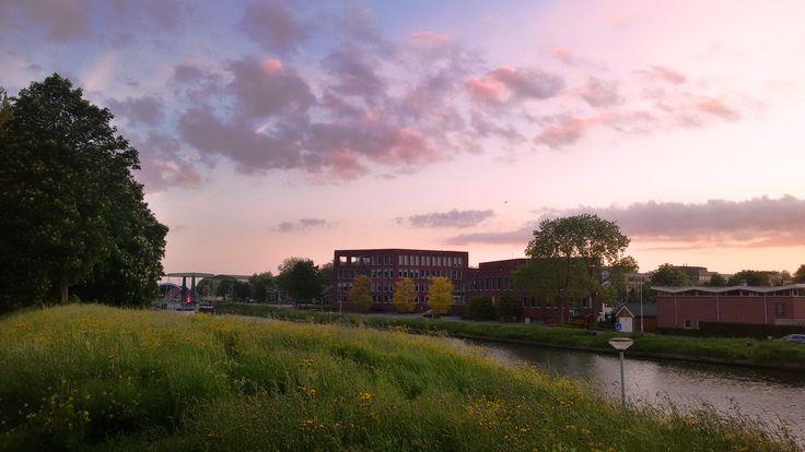 Sundown at the Canal van Steenenhoek