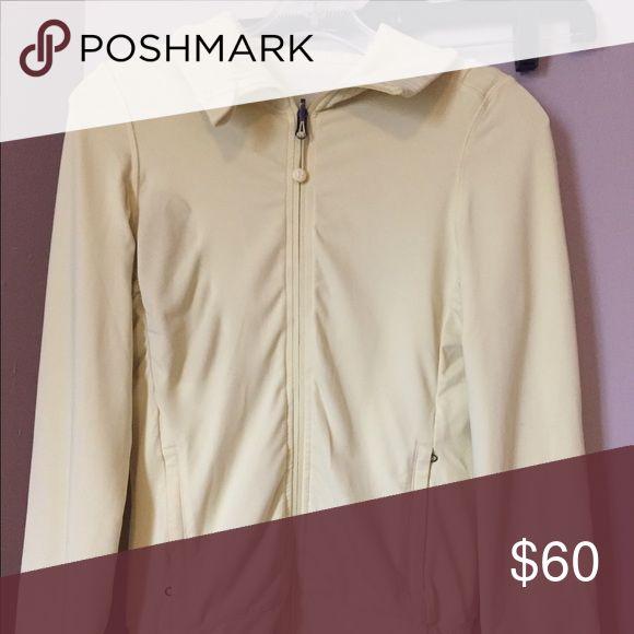 Yellow zip up hoodie Soft yellow zip up hoodie lululemon athletica Tops Sweatshirts & Hoodies