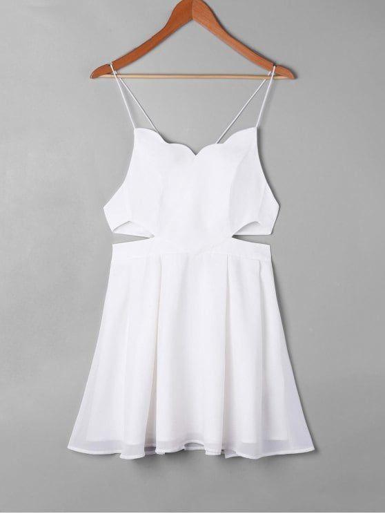 2f39d9814c96cf Up to 80% OFF! Side Cut Out Mini Slip Dress.  Zaful  Dress Zaful ...
