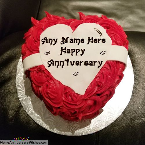 Happy Anniversary Cake Images Free Download With Name