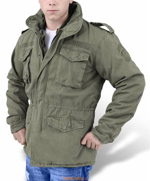 Куртка m65 в стиле милитари