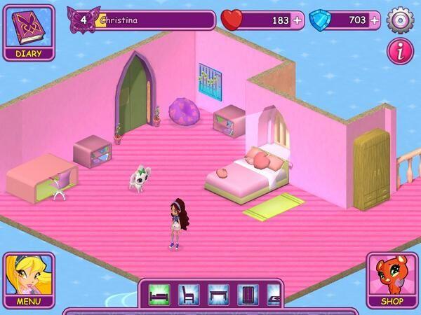 Winx Fairy School dorm by Christina