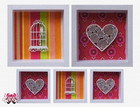 Cuadros decorativos tipo box - Adornos - Casa - 513193