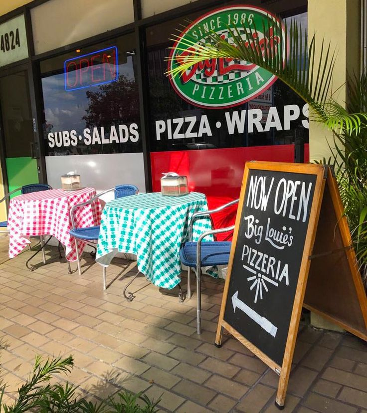 Big Louie's Pizza in Ft. Lauderdale is one of the trusted names offering local pizza delivery, wings delivery, Italian catering & more. Choose from their variety of Italian pizza, wings, pasta, salad, and more for delivery or pickup, dine-in or take out.