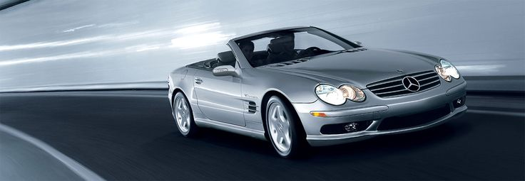 2002 5.5 Liter AMG V-8 engine SL55 - Mercedes AMG