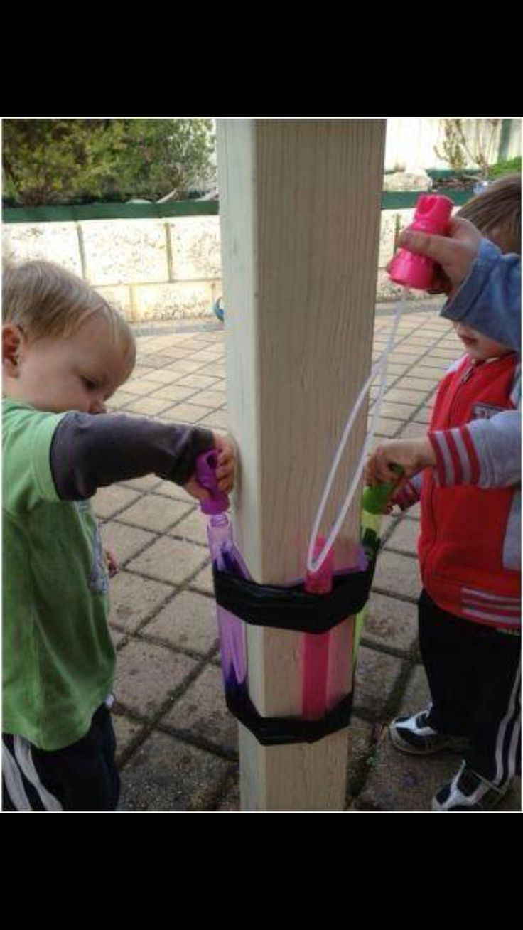 Outside Bubble Play