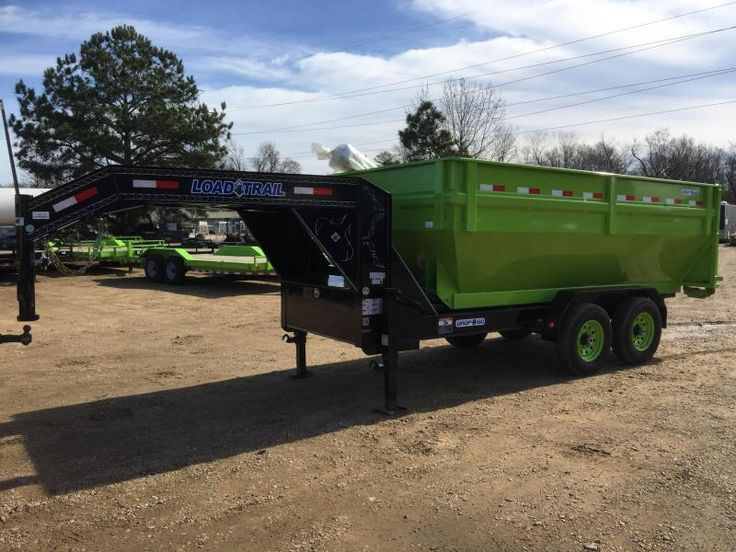 "2017 Load Trail 83"" x 14' Tandem Axle Drop-N-Go DUMP TRAILER 