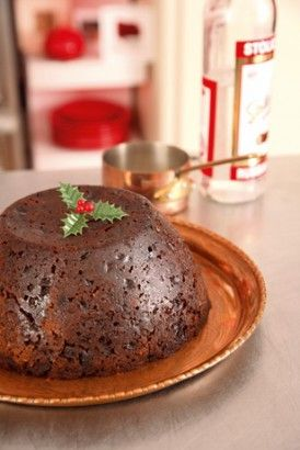 Traditional British Christmas pudding, full recipe: http://www.bbc.co.uk/food/recipes/christmas_pudding_41498