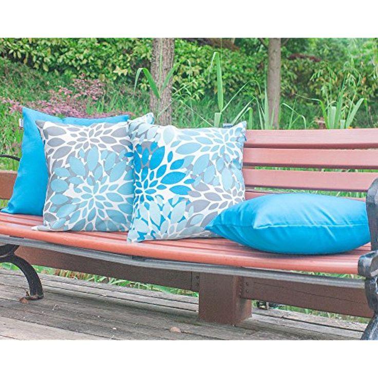 Polyester Outdoor Waterproof Cushion, Waterproof Garden Seat Cushion Covers