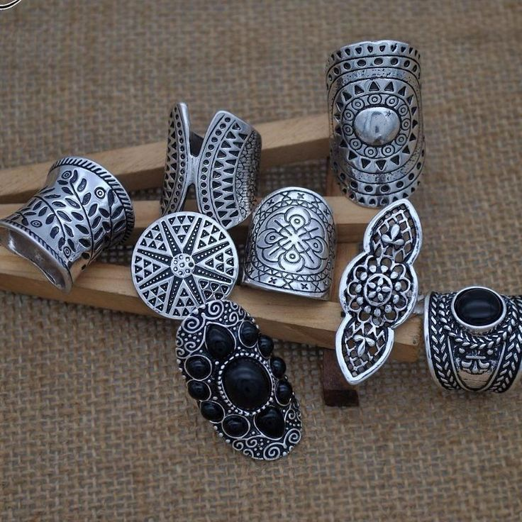 2019 Bohemia Vintage Boho Jewelry Rings Mixed – boho style