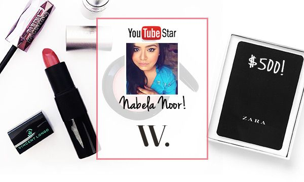 Win Nabela Noor's favorite Wantable makeup AND a $500 Zara giftcard! Hurry, this giveaway ends soon!