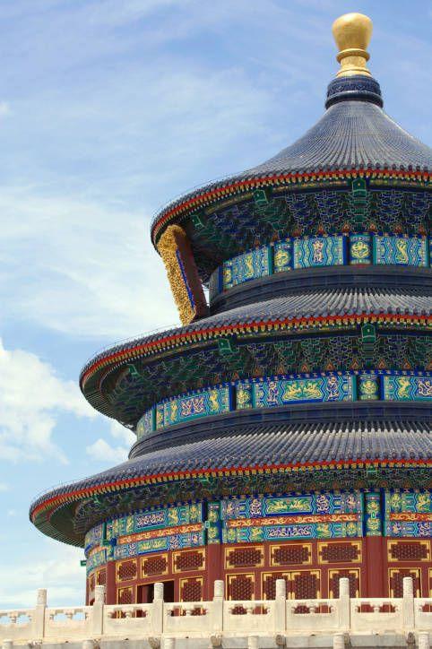 Temple of Heaven, Hall of Prayer for Good Harvest, in Beijing
