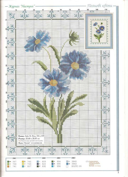 Gallery.ru / Photo # 21 - different floral scheme - irisha-ira