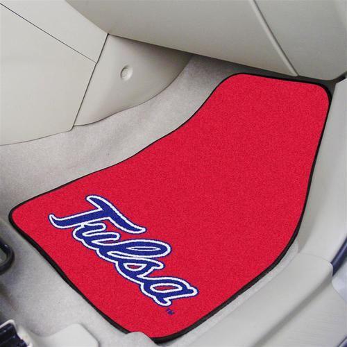 University of Tulsa Car Auto Floor Mats Front Seat