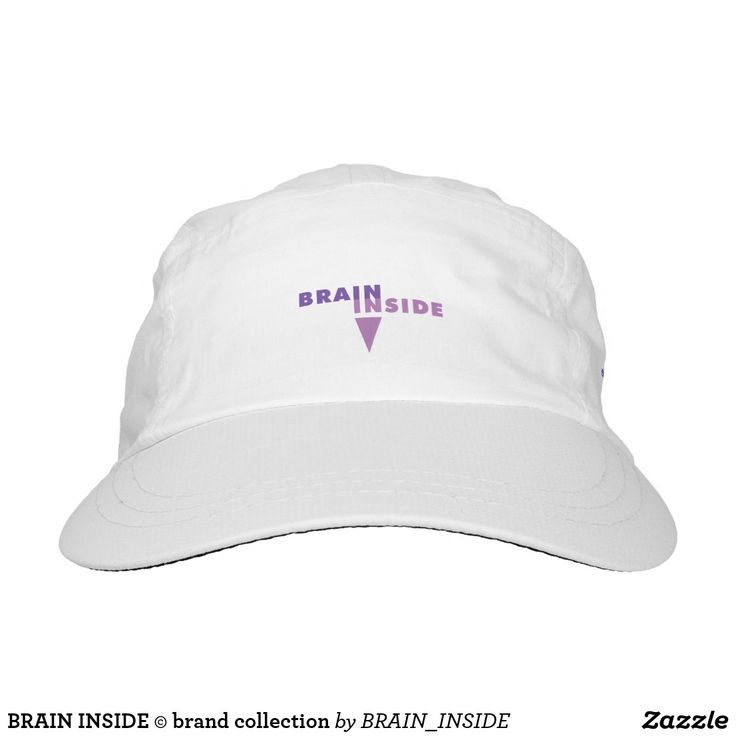 BRAIN INSIDE © brand collection Hat For a smart and attractive lady. Show that you are not only gorgeous, but also clever and with a sense of humour...