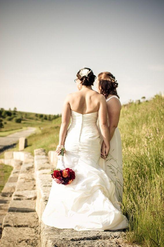 Lesbian Wedding: Erin & Karen, 29 Jun 2013