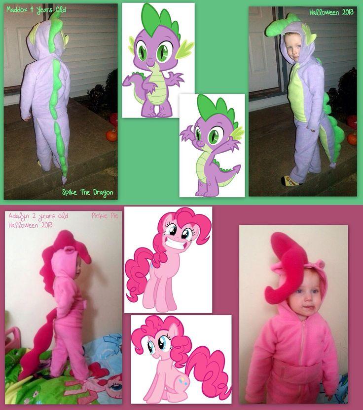My little pony pinkie pie spike Halloween costume cosplay