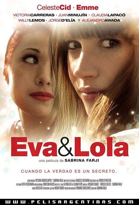 631- Eva & Lola. Cuenta la historia de Eva (Celeste Cid), una joven hija de padre desaparecido, que durante los días entre Navidad y Año Nuevo se entera que su intima amiga y compañera de grupo de circo, Lola (Emme), es una hija apropiada