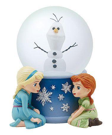 Frozen Do You Want to Build a Snowman Snow Globe #zulily #zulilyfinds
