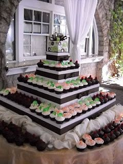 Unforgettable Wedding Cakes: Cupcake mania!