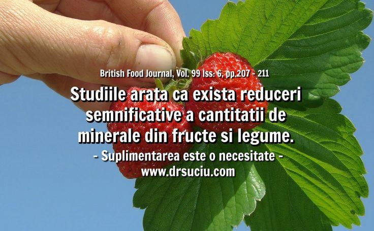 Photo Reduceri semnificative a cantitatii de minerale din legume - drsuciu