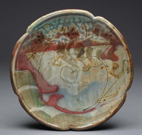 dinnerware plum tree pottery . I love the edges on this piece. I have to go to John's studio this spring