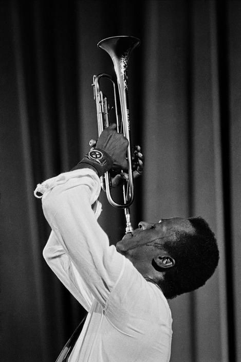Miles Davis, 1969 Guy Le Querrec Paris, 8th'