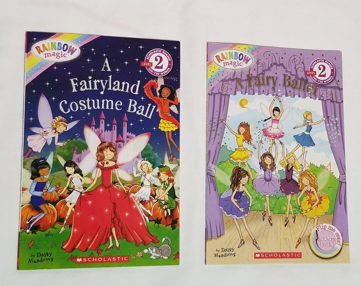 Rainbow Magic Fairy Book Set Level 2 Reader with Stickers by Daisy Meadows