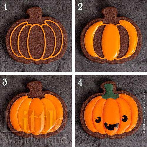 ¿Truco o trato? Galletas para Halloween | Little Wonderland