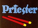 Lucian Bernhard's first poster - Priester matches. Good Bernhard bio on this AIGA site.